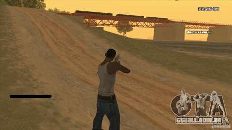 O ponto em vez da visão para GTA San Andreas