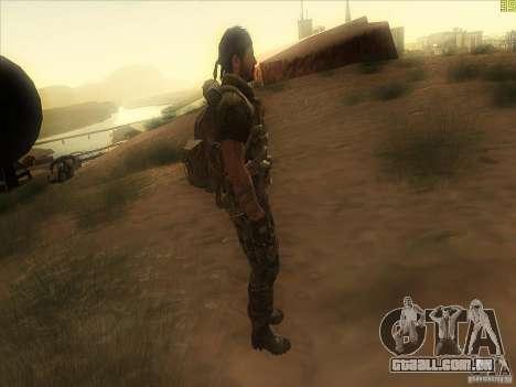 Frank Woods para GTA San Andreas terceira tela
