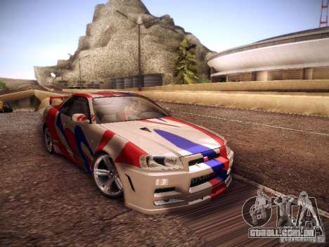 Nissan Skyline full tune para GTA San Andreas