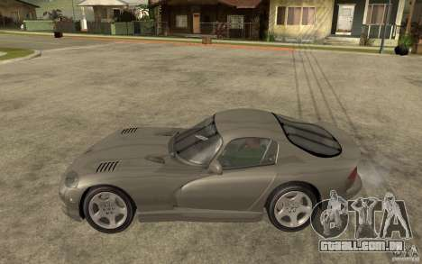Dodge Viper GTS para GTA San Andreas esquerda vista