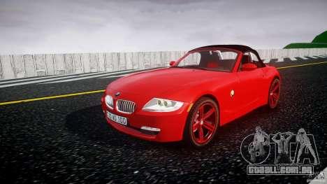 BMW Z4 Roadster 2007 i3.0 Final para GTA 4