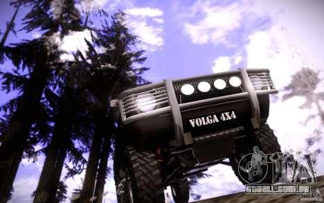 GAZ 2402 4 x 4 PickUp para GTA San Andreas interior
