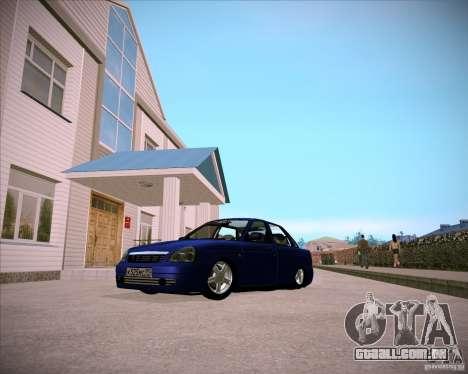 Lada Priora Chelsea para GTA San Andreas