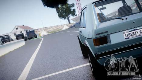 Volkswagen Golf Mk1 para GTA 4 vista lateral