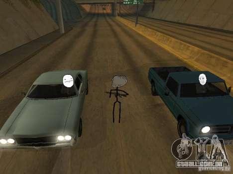 Meme Ivasion Mod para GTA San Andreas décima primeira imagem de tela