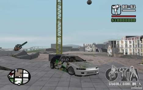 Honda Sivic drift para GTA San Andreas