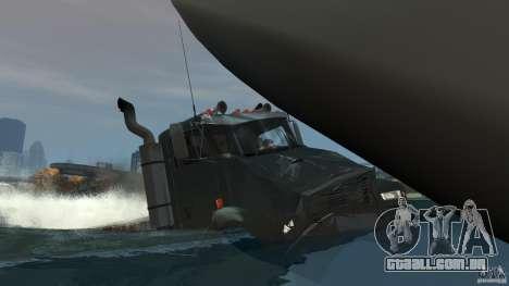 Biff boat para GTA 4 motor