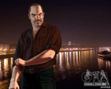 Tela de boot Rússia na América para GTA 4 terceira tela