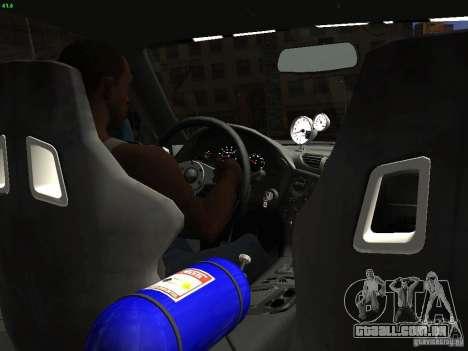 Mazda RX 7 Veil Side para GTA San Andreas vista traseira