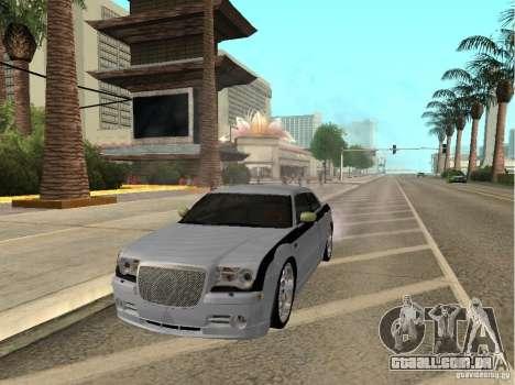 Chrysler 300 C para GTA San Andreas