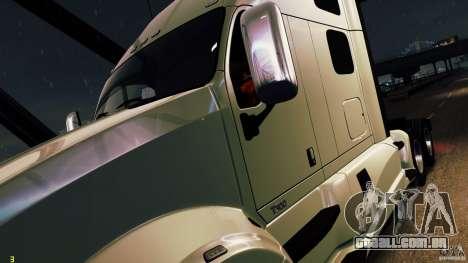 Kenworth T700 2010 Final para GTA 4 vista de volta