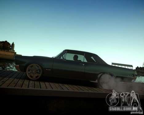 Pontiac GTO DF para GTA 4 vista superior