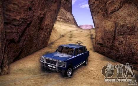 GAZ 2402 4 x 4 PickUp para as rodas de GTA San Andreas
