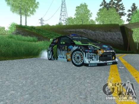Ford Fiesta Ken Block Dirt 3 para GTA San Andreas