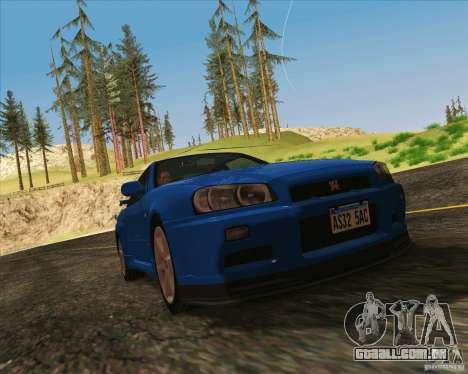 NFS The Run ENBSeries by Sankalol para GTA San Andreas por diante tela