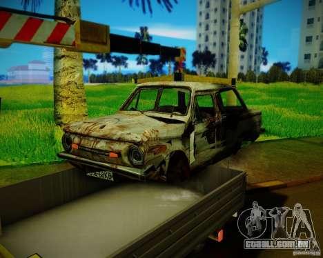 Gazela 33023 Manipulator para GTA San Andreas vista traseira
