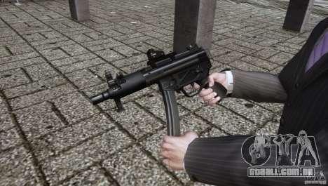 H&K MP5k para GTA 4 segundo screenshot