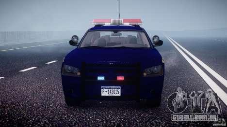 Dodge Charger NY State Trooper CHGR-V2.1M [ELS] para GTA 4 interior
