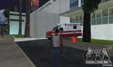Kits de primeiros socorros para GTA San Andreas