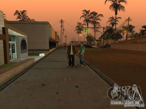 Los Santos Protagonists para GTA San Andreas terceira tela