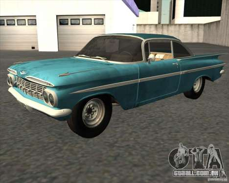 Chevrolet Impala Coupe 1959 Used para GTA San Andreas
