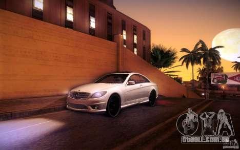 Mercedes Benz CL65 AMG para GTA San Andreas interior