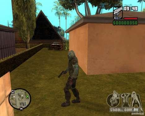 Céu claro perseguidor de para GTA San Andreas segunda tela