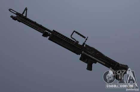 M60 para GTA San Andreas por diante tela