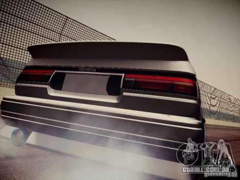 Toyota Corolla AE86 para GTA San Andreas vista direita