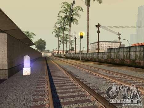 Luzes de tráfego ferroviário para GTA San Andreas