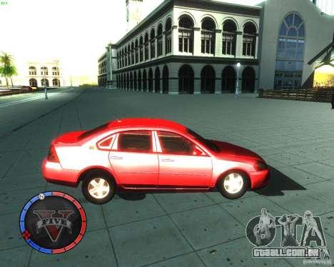 Chevrolet Impala 2008 para GTA San Andreas esquerda vista