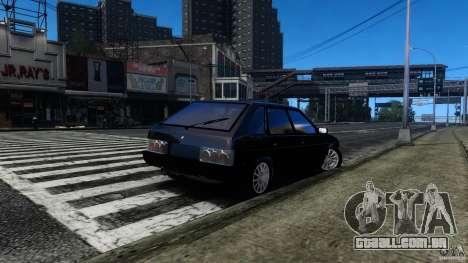 VAZ 2109 Drift Turbo para GTA 4 traseira esquerda vista