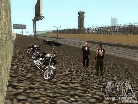 A escola realista motociclistas v 1.0 para GTA San Andreas