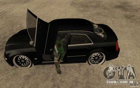 Chrysler 300C DUB para GTA San Andreas esquerda vista