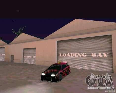 Stratum Tuned Taxi para GTA San Andreas esquerda vista