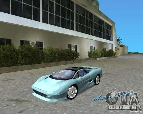 Jaguar XJ220 para GTA Vice City