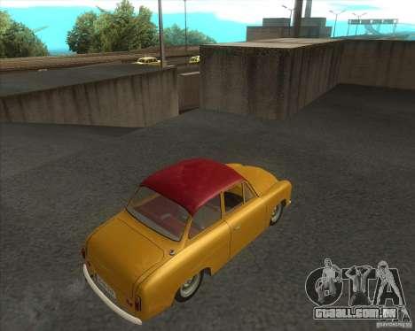 Syrena 104 para GTA San Andreas esquerda vista