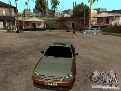 LADA 2170 Pickup para GTA San Andreas traseira esquerda vista