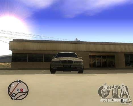 BMW 750il Limuzin para GTA San Andreas vista direita