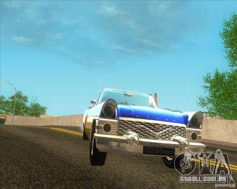 GAZ Chaika 13B para GTA San Andreas traseira esquerda vista