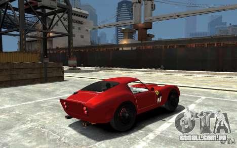 Ferrari 250 Le Mans para GTA 4 vista direita