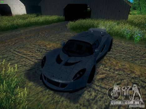 Hennessey Venom GT Spyder para GTA San Andreas interior