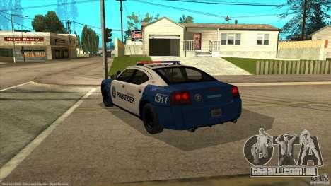 Dodge Charger Los-Santos Police para GTA San Andreas