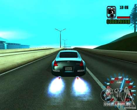 Novos efeitos para GTA San Andreas segunda tela