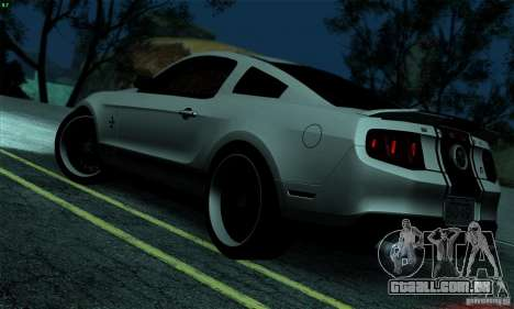 SA gline v4.0 Screen Edition para GTA San Andreas segunda tela