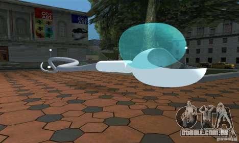 Esperma para GTA San Andreas esquerda vista