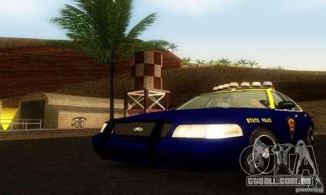 Ford Crown Victoria West Virginia Police para GTA San Andreas
