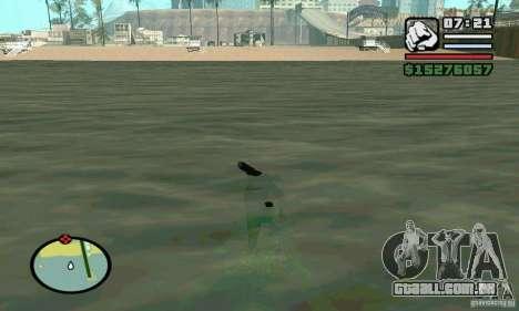 Vela em 2 vezes mais rápidos para GTA San Andreas segunda tela