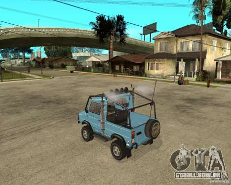 LuAZ 969 m afastado-Tuning para GTA San Andreas