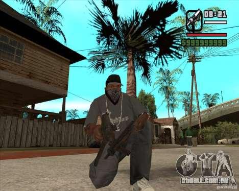 Armas de Pak de Fallout New Vegas para GTA San Andreas por diante tela